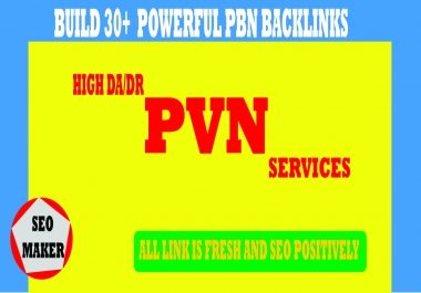 Build 30+ Powerful Homepage PBN Backlinks with unique website RANK 1ST 2021