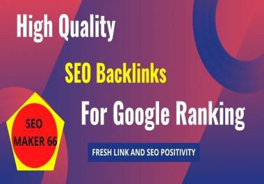 I will Provide 500+ High Quality DA SEO Backlinks For Google Ranking