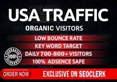 I will drive safe organic USA traffic
