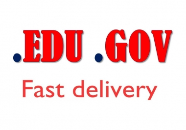 Boost your Google Rankings SEO with 10 EDU GOV + 10 Dofollow High Authority Backlinks, Link Building