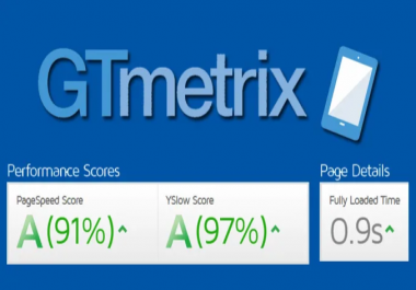 I will increase your website speed on Gtmetrix from 80 to 95+