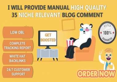 35 Niche Relevant Blog Comments