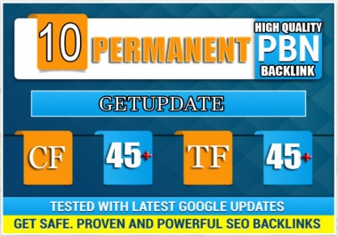 10 Pbn High Tf Cf Da Pa Backlink Permanent