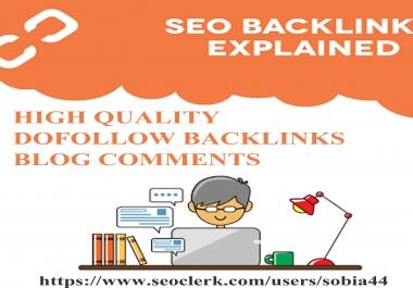 create high authority 200 dofollow backlinks