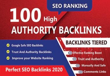 I will create manually 100 unique domain dofollow backlinks