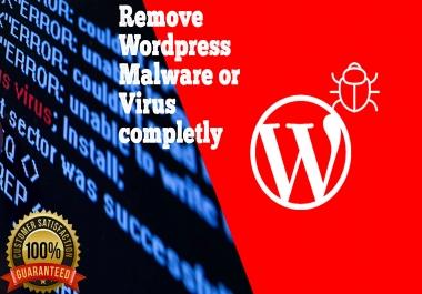 Remove wordpress malware or virus completly