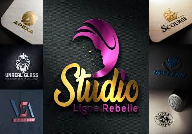 I will design 3 creative and professional logo for you