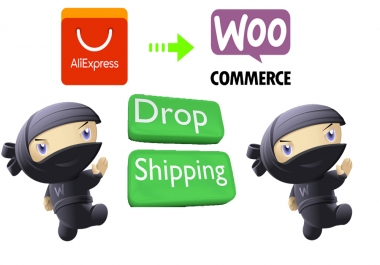 create automated aliexpress dropshipping website with woocommerce