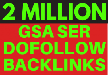 2M GSA Backlinks ranking your website for etsy SEO