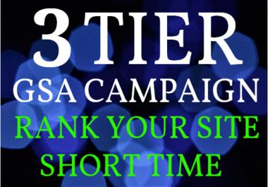 Provide 100k+ GSA Backlinks from Tier1, Tier2 and Tier 3