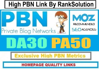 Powerful 6 PBN Backlink PA: 50+ Dofollow Homepage Links