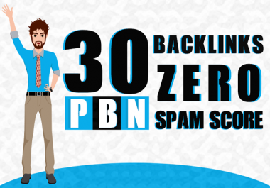Homepage 15 High authority DA 20 to 30 Plus pbn Dofollow backlinks