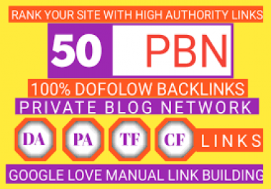 (PBN) Create 50 Private + blog networks with articles related to PBN and indexing