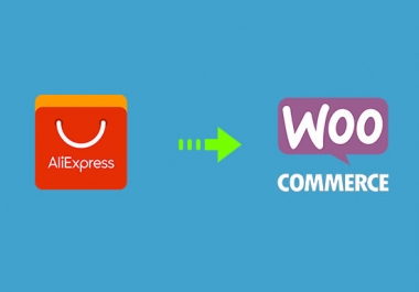 I will create a Dropshipping Aliexpress Woocommerce Online shop