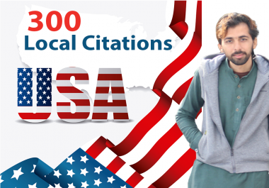 I will submit your website to 300 USA local citations