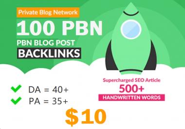 Massive Powerful homepage 100 web 2.0 Pbn 100 unique website High Da Aged Network .Com Site