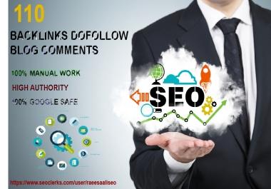 I Will do 90 Blogcomment + 20 EDU/GOV Backlinks High DA Site