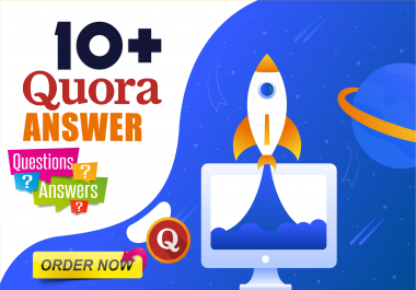 Manually Promote your website with 10 Quora Answers With Clickable Link