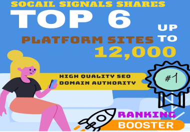 MIXED TOP 6 PLATFORM SITES 12,000+ PINTERSET/WEB SHARE/DIIGO/REDDIT/BITLY/TUMBLR SOCIAL SIGNALS