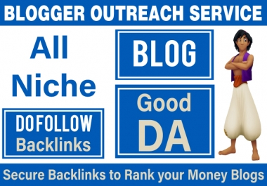 Grow your Online Business through our Blogger Outreach Service