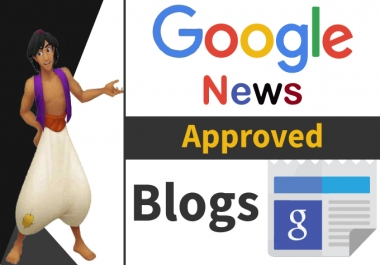 Provide Authority Guest Post on Google News Approved Blogs