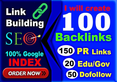 Skyrocket Your Website on Google with 100 High Authority Pr9, Dofollow SEO Link Building Backlinks