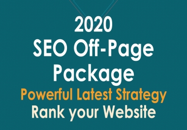 2020 Latest Powerful SEO Off-Site Strategy to rank your site