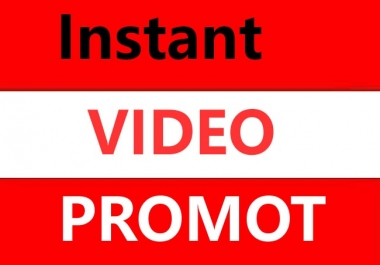 High Retention Real Video Promotion & supper fast delivery