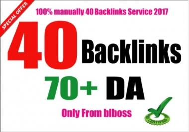 do 40 USA pr9 link building backlinks