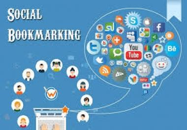 I will provide 20 social bookmarking backlinks