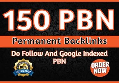 I will build 150 pbn backlinks high quality