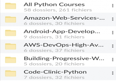 Best learning courses of the year (seo, css, python, android, ios)