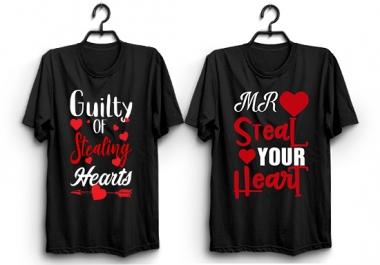 Creative Custom Typography T-shirt Design