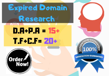 Presenting 5 High Quality Expired Domain For Your Niche