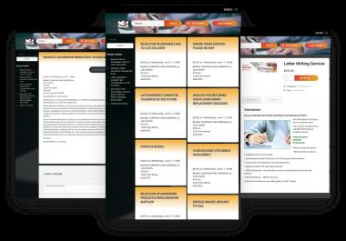 WordPress Database of 800 Business Letter