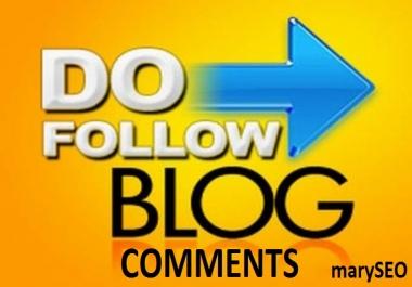 provide 100 blog comments high quality backlinks