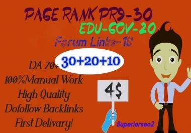 Build 60+ HQ SEO PROFILE LINK From PR9-EDU.GOV-FORUM Plus High Domain BACKLINKS