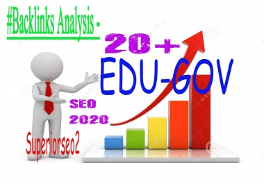 Build 21 US Based EDU.GOV Authority Safe SEO Profile Backlinks