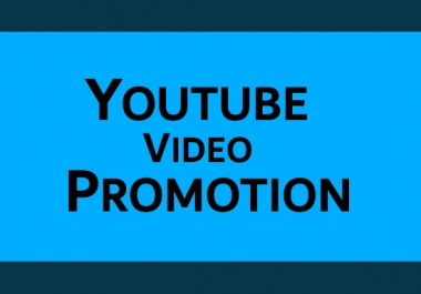 I will do youtube video SEO for promotion and ranking
