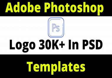 Adobe Photoshop Logo 30K+ Templates In PSD