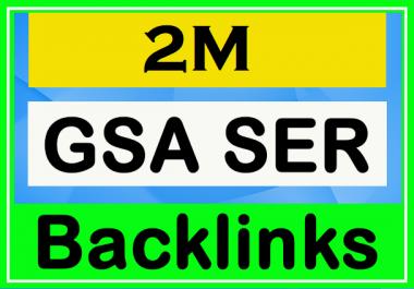 2 Million GSA Powerful Backlinks for Your Website - SEO Service 2020