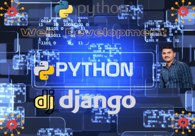 I will develop web apps using Django Framework