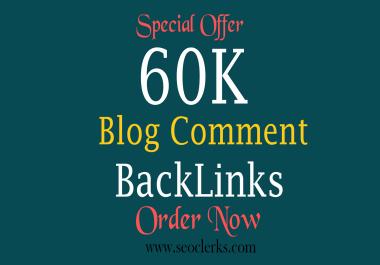 60K GSA Blog Comments High Quality Backlinks For Google Ranging