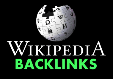 Manually create high authority Wikipedia backlink for your website