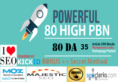 80 PowerFul High PBN Permanent Manual PA 30 Homepage PBN Links