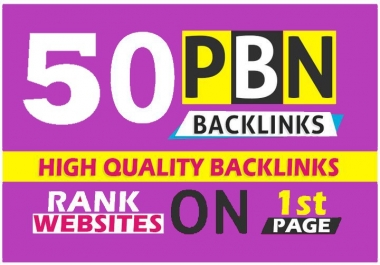 50 High PBN Post TF/CF , DA 30 – 30+ PBN Backlink – Permanent and Manual