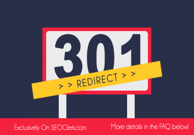 Build 1000+ Permanent 301 REDIRECT Backlinks For Ranking up your website