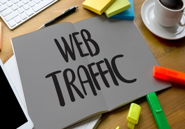 USA/UK/Canada traffic from Google, Bing, Yahoo and Top Social media platforms for 30 Days