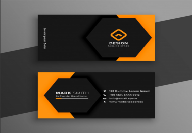 I will design unique professional business card
