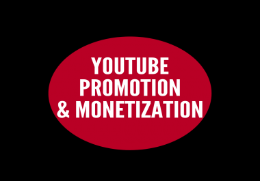 youtube video promotion and monetization